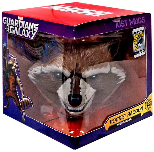 Marvel Guardians of the Galaxy Just Mugs Rocket Raccoon Exclusive Drinking Mug