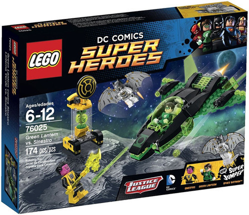 LEGO DC Super Heroes Green Lantern vs. Sinestro Set #76025