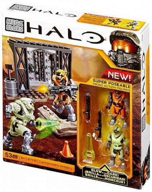 Mega Bloks Halo Containment Armory Exclusive Set #97516