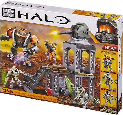 Mega Bloks Halo Containment Outpost Patrol Exclusive Set #97515