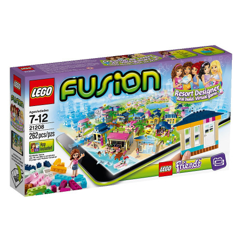 LEGO Fusion Friends Resort Designer Set #21208