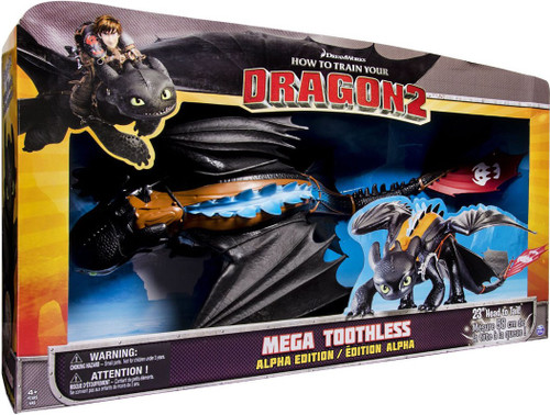 How to Train Your Dragon 2 Mega Toothless Action Figure [Alpha Edition]
