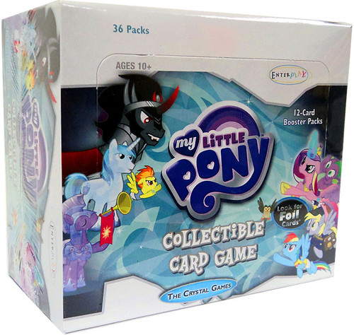 My Little Pony Trading Card Game The Crystal Games Booster Box [36 Packs]