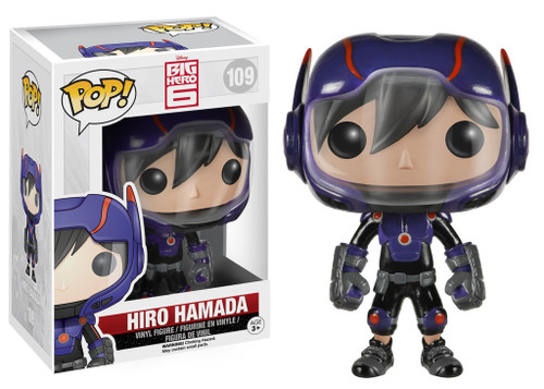 Funko Big Hero 6 POP! Disney Hiro Hamada Vinyl Figure #109