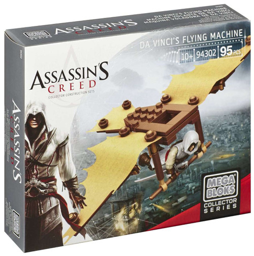 Mega Bloks Assassin's Creed Da Vinci's Flying Machine Set #94302