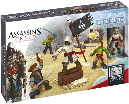 Mega Bloks Assassin's Creed Pirate Crew Pack Set #94305
