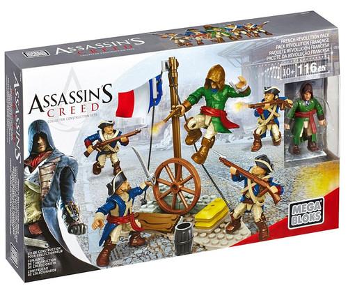 Mega Bloks Assassin's Creed French Revolution Pack Construction Set #94320 [Four Revolutionary Fighters]