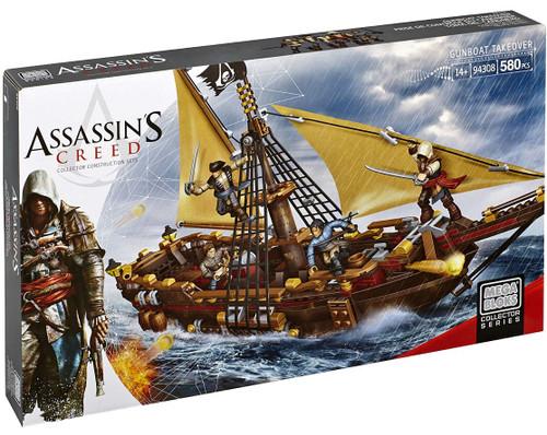 Mega Bloks Assassin's Creed Gunboat Takeover Set #94308