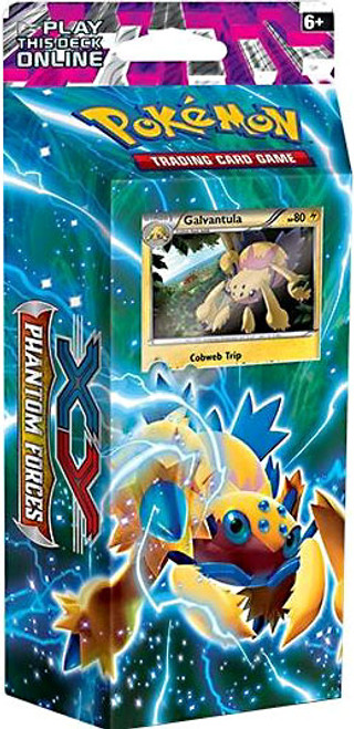 Pokemon Trading Card Game XY Phantom Forces Bolt Twister Theme Deck