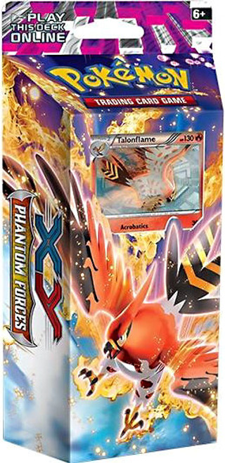 Pokemon Trading Card Game XY Phantom Forces Burning Winds Theme Deck