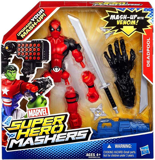 Marvel Super Hero Mashers Battle Upgrade Deadpool Action Figure