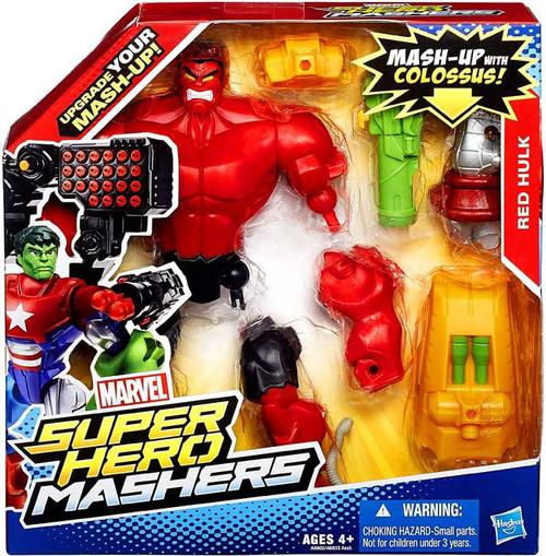 Marvel Super Hero Mashers Battle Upgrade Red Hulk Action Figure