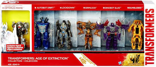 Transformers Age of Extinction One Steps Exclusive Action Figure 6-Pack
