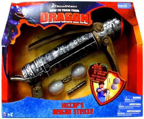 How to Train Your Dragon Hiccup's Dragon Striker Roleplay Toy [Damaged Package]