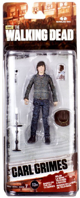 McFarlane Toys The Walking Dead AMC TV Series 7 Carl Grimes Action Figure
