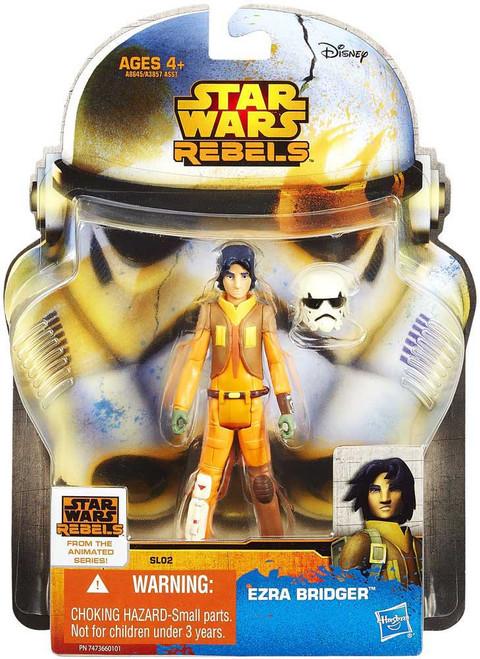Star Wars Rebels Saga Legends 2014 Ezra Bridger Action Figure SL02