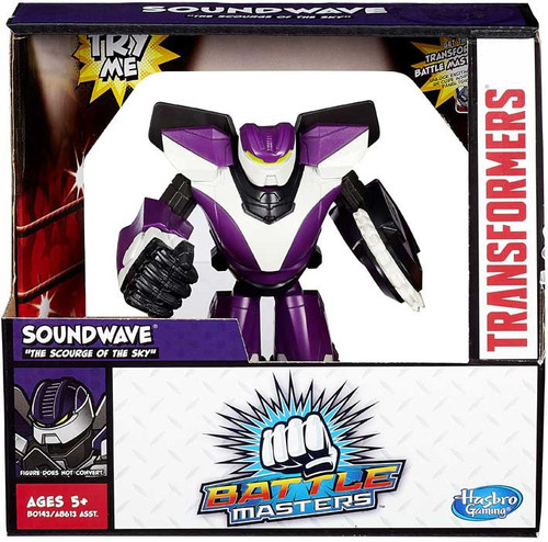 Transformers Battle Masters Soundwave Action Figure [The Scourge of the Sky]