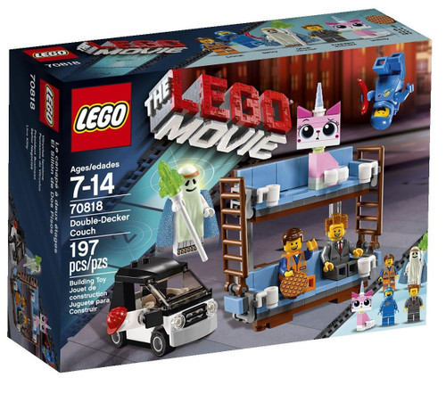 The LEGO Movie Double Decker Couch Set #70818