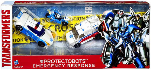 Transformers 30th Anniversary Protectobots Emergency Response Action Figure 3-Pack