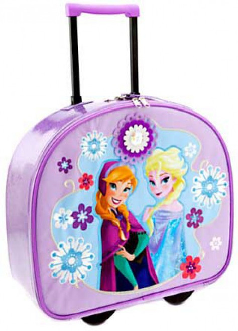 Disney Frozen Anna & Elsa Exclusive Rolling Luggage