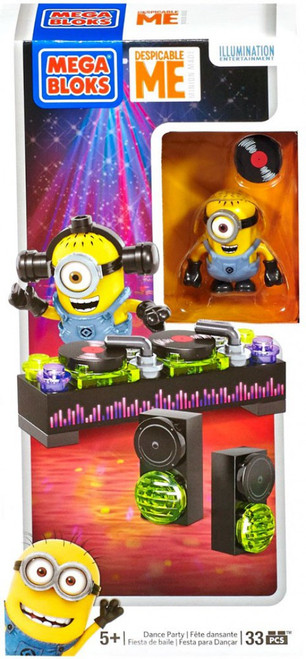 Mega Bloks Despicable Me Minion Made Dance Party Set #94809