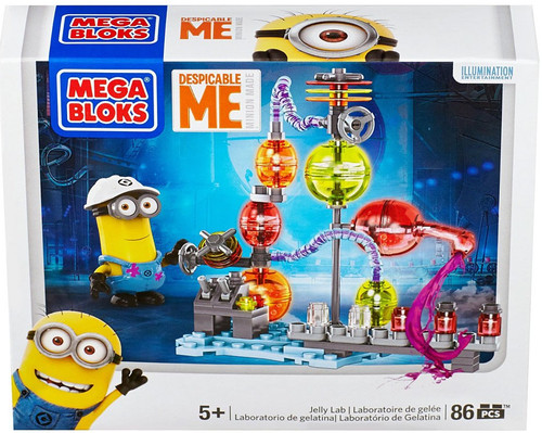 Mega Bloks Despicable Me Minion Made Jelly Lab Set #94812