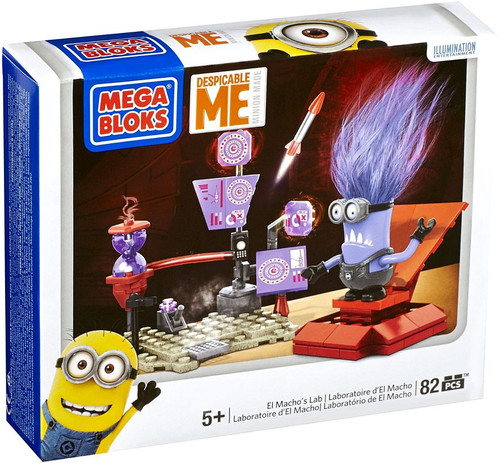 Mega Bloks Despicable Me Minion Made El Macho's Lab Set #94811