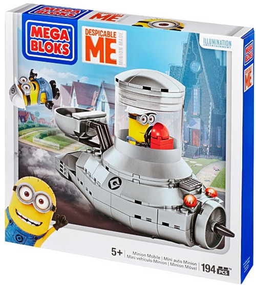 Mega Bloks Despicable Me Minion Made Minion Mobile Set #94813