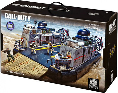 Mega Bloks Call of Duty Hovercraft Set #06859