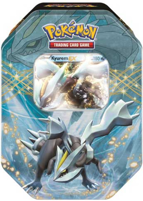 Pokemon Trading Card Game Best of 2014 Kyurem-EX Tin Set [4 Booster Packs & Promo Card!]