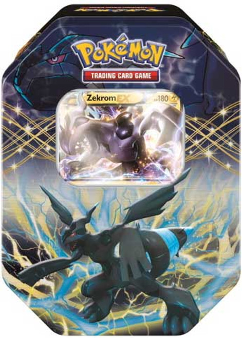 Pokemon Trading Card Game Best of 2014 Zekrom-EX Tin Set [4 Booster Packs & Promo Card!]