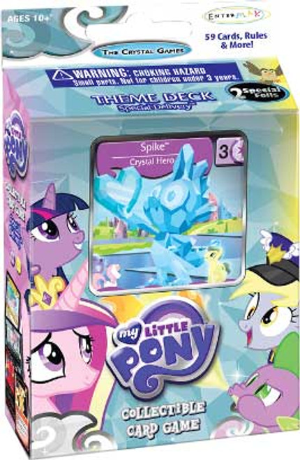 My Little Pony Friendship is Magic The Crystal Games Special Delivery Theme Deck