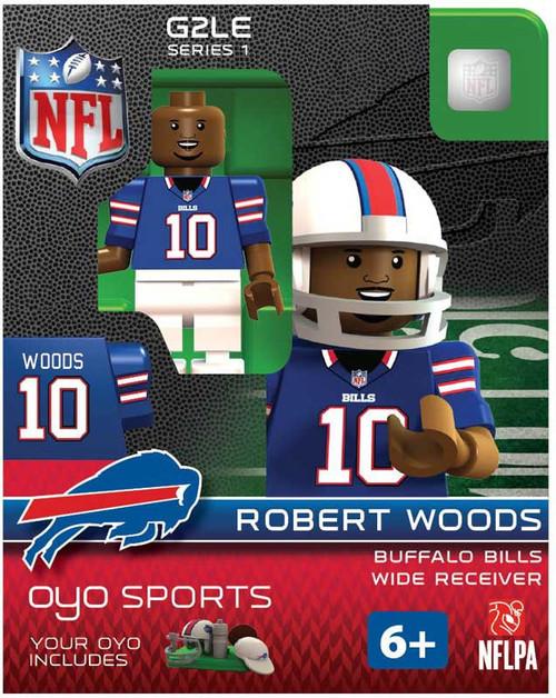 Buffalo Bills NFL Generation 2 Series 1 Robert Woods Minifigure