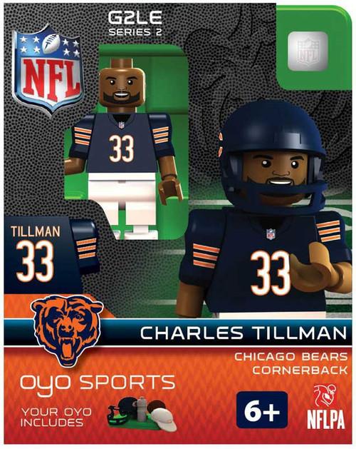Chicago Bears NFL Generation 2 Series 2 Charles Tillman Minifigure