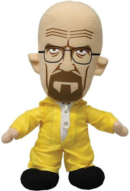 Breaking Bad Walter White as Heisenberg 8-Inch Plush [Yellow Hazmat Suit]