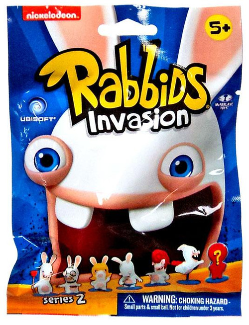 McFarlane Toys Raving Rabbids Rabbids Invasion Series 2 Mini Figure 2-Inch Mystery Pack