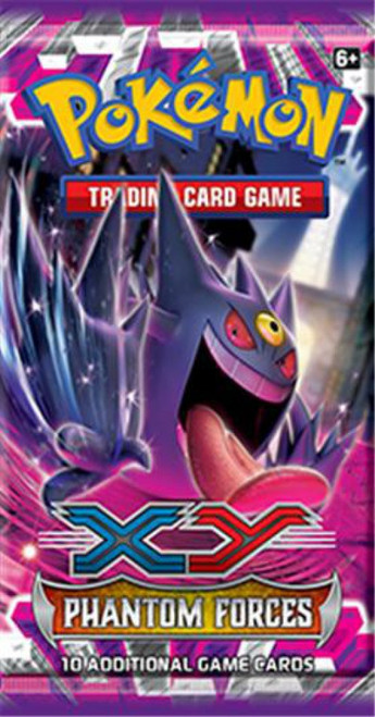 Pokemon Trading Card Game XY Phantom Forces Booster Pack [10 Cards]