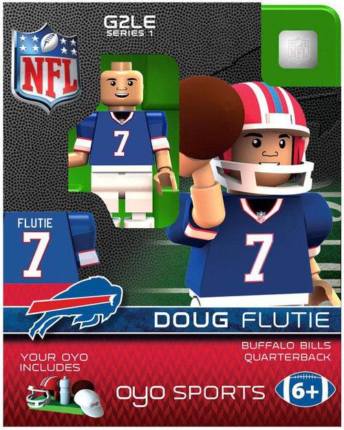 Buffalo Bills NFL Generation 2 Series 1 Doug Flutie Minifigure [Buffalo Bills]
