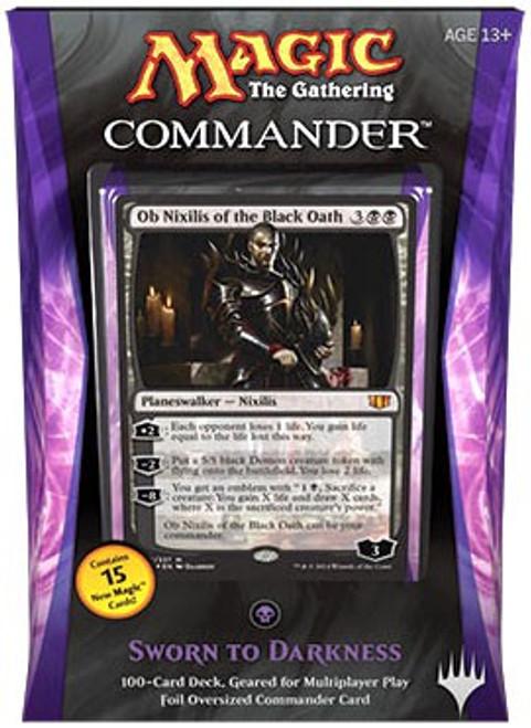 MtG Trading Card Game 2014 Commander Sworn to Darkness Deck