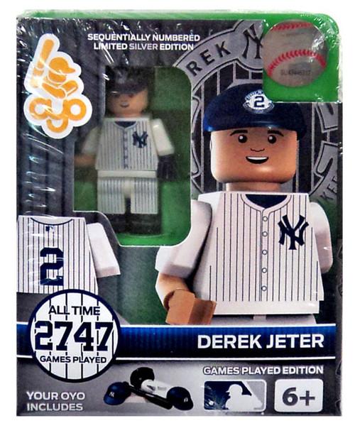 MLB New York Yankees Derek Jeter Minifigure [Games Played Edition]