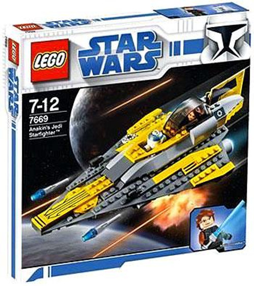 LEGO Star Wars Revenge of the Sith Anakin's Jedi Starfighter Set #7669 [Damaged Package]