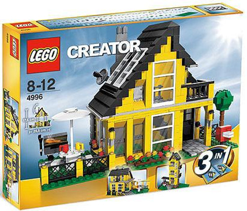 LEGO Creator Beach House Set #4996 [Damaged Package]