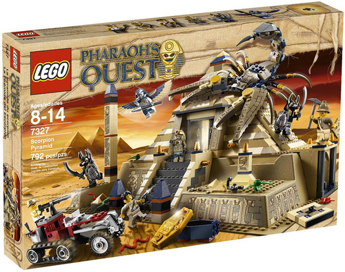 LEGO Pharaoh's Quest Scorpion Pyramid Set #7327 [Damaged Package]