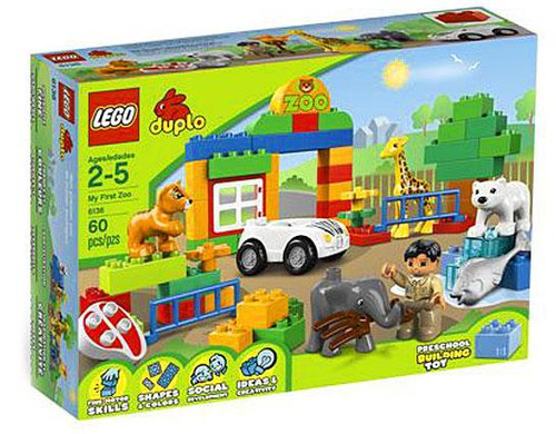 LEGO Duplo My First Zoo Set #6136 [Damaged Package]