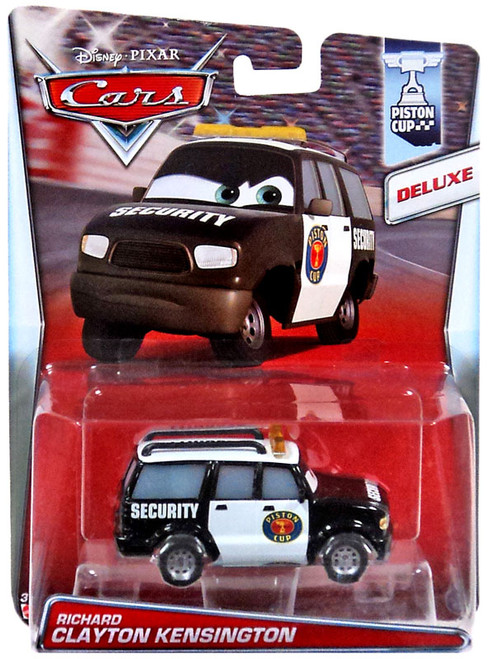 Disney / Pixar Cars Deluxe Oversized Richard Clayton Kensington Diecast Car #4/18