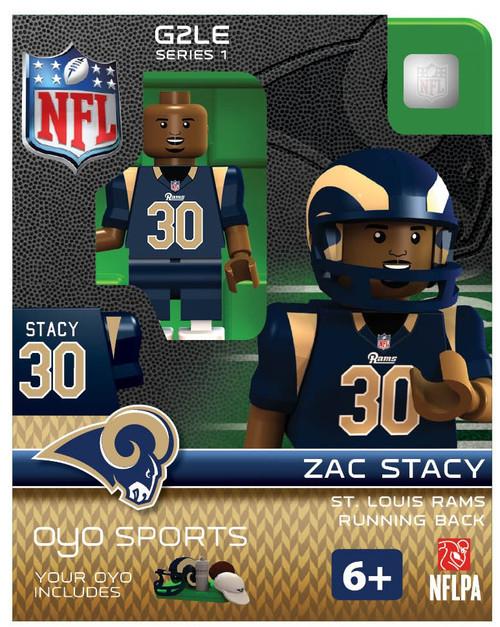 St. Louis Rams NFL Generation 2 Series 1 Zac Stacy Minifigure