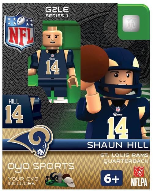 St. Louis Rams NFL Generation 2 Series 1 Shaun Hill Minifigure