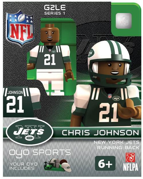 New York Jets NFL Generation 2 Series 1 Chris Johnson Minifigure