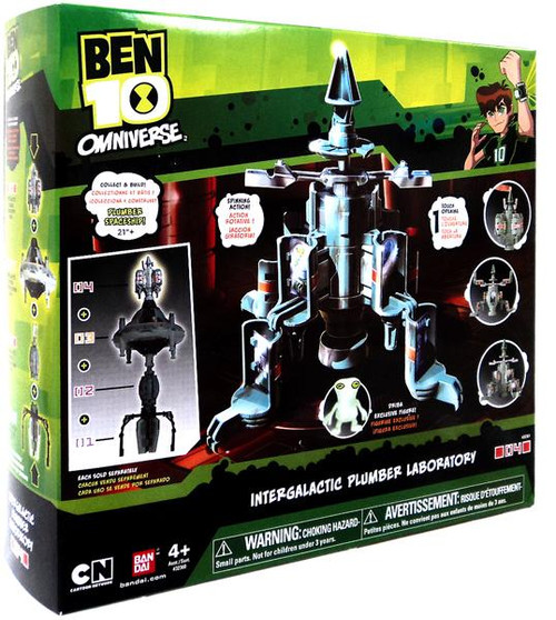 Ben 10 Omniverse Intergalactic Plumber Laboratory Playset [Damaged Package]
