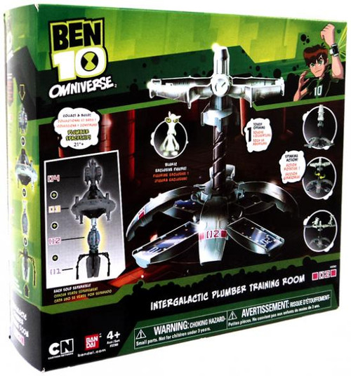 Ben 10 Omniverse Intergalactic Plumber Training Room Playset [Damaged Package]